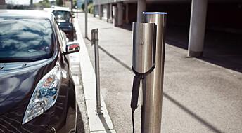– Om noen år skal vi kunne lade elbilen hvor og når vi vil