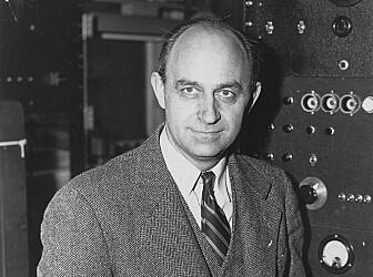 Enrico Fermi er en svært kjent kjernefysiker, og var blant annet med på å utvikle atombomben under 2. verdenskrig. (Bilde US Dept of Energy)
