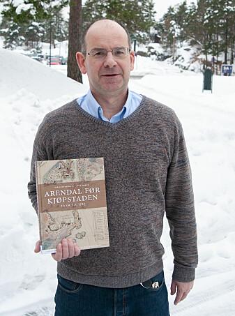 Knut Dørum er professor i historie ved Universitetet i Agder. (Foto: Atle Christiansen, UiA)