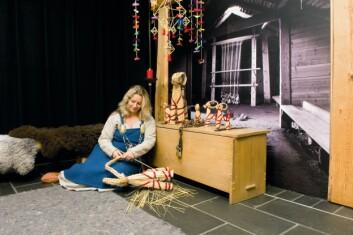 Halm har lenge vært forbundet med norske juletradisjoner. (Foto: Universitetet i Stavanger)