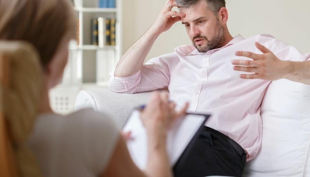 Nesten 85 prosent av pasientene ble helt friske eller betydelig bedre kun ved hjelp av kognitiv terapi, viser ny studie ved NTNU i Trondheim. (Foto: Shutterstock / NTB scanpix)