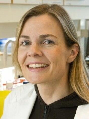Forsker og professor Johanna Olweus ved UiO og Radiumhospitalet, Oslo Universitetssykehus. (Foto: UiO) 