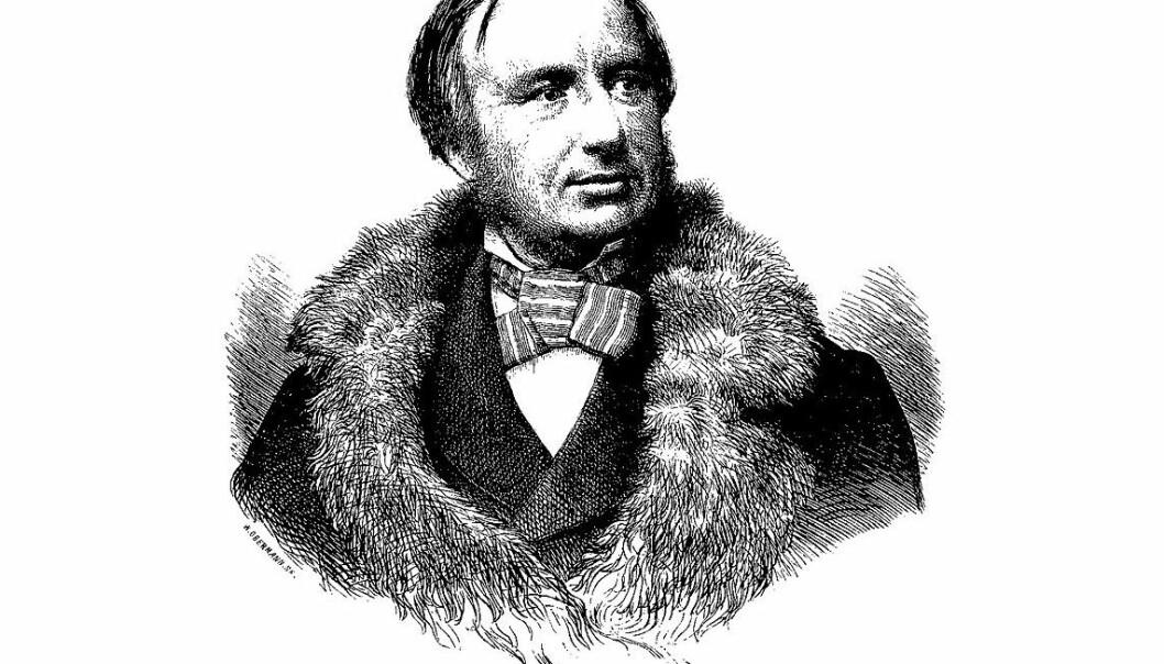 P.A. Munch (1810-63) var et universalgeni i Oslo på midten av 1800-tallet. Hans åtte bind store verk om Norges historie regnes som det første med en vitenskapelig tilnærming til historiefaget. Munch var også geografiforsker, myteforsker og runeforsker. P.A. Munch gjorde i tillegg et imponerende arbeid med norske barnenavn. Når så mange barn i Norge i over hundre år har fått navn som Gro, Inger, Thor og Dag er det ikke minst takket være P.A. Munch.  (Portrettet ble lagd i 1862 for Illustreret Tidende i København)