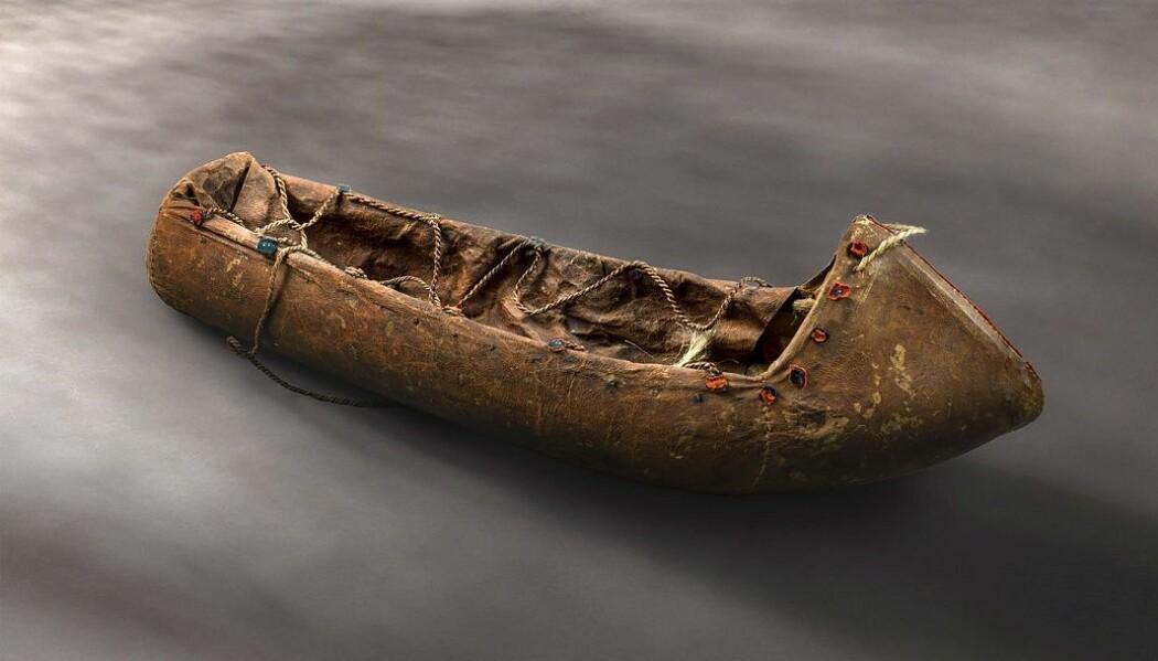 Komse for spedbarn. Alle samiske gjenstander eldre enn 100 år er vernet. Men de er altså blant unntakene i Norge. (Foto: Åge Hojem, NTNU Vitenskapsmuseet)