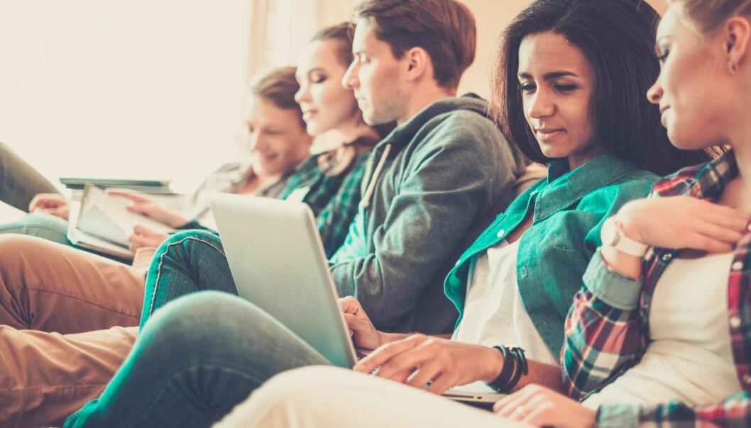 Universitetene i Norge har langt mer utveksling enn høyskolene, viser ny rapport fra SIU. En årsak er at universiteter generelt har mer samarbeid med fagmiljøer i utlandet.  (Foto: Shutterstock / NTB scanpix)