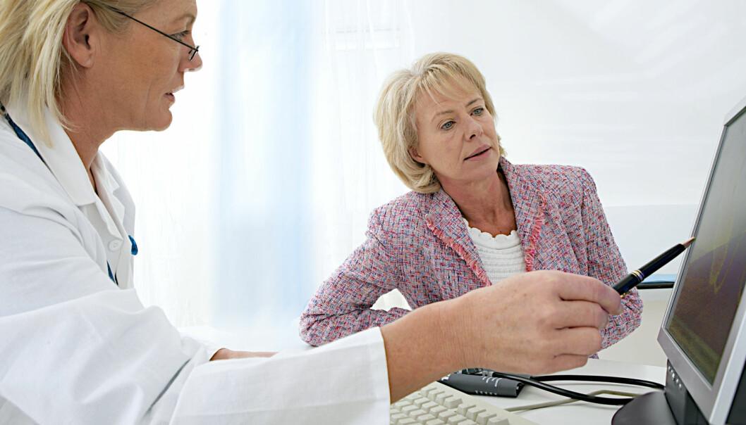 Med e-helse skal det blir lettere for leger å finne ut hva som er galt med pasientene, og hvilken behandling de bør få. Men norsk forsker er kritisk til at all informasjon om pasientene struktureres. (Foto: Shutterstock / NTB scanpix)