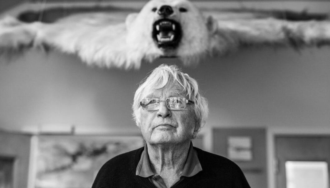 Ola M. Johannessen stifta Nansensenteret for 30 år sidan.  (Foto: Ingvild Festervoll Melien)