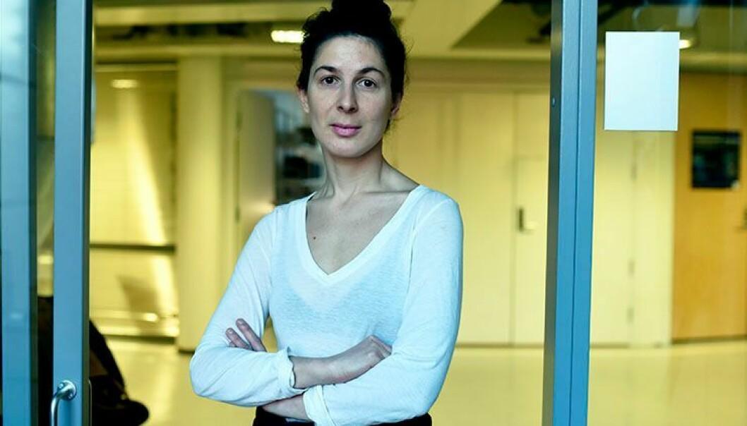 Sara R. Yazdani er en av mange stipendiater som håper på et langt forskerliv, men hun vet at mange har den samme drømmen.  (Foto: Ola Sæther)