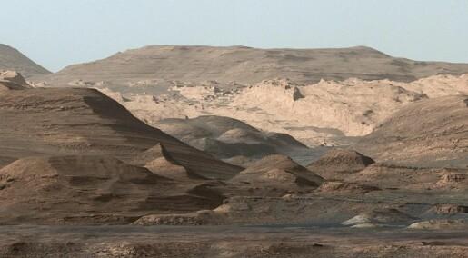 Nye analyser viser metangass på Mars