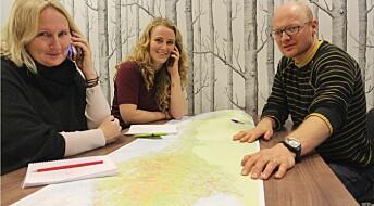 Kartlegger naturbaserte reiselivsbedrifter i Norge