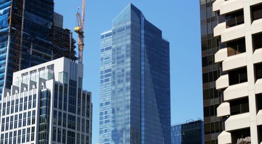 Satellitter viser at Millennium Tower synker