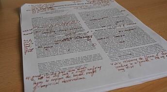 Kronikk: Et bedre system for vitenskapelig merittering