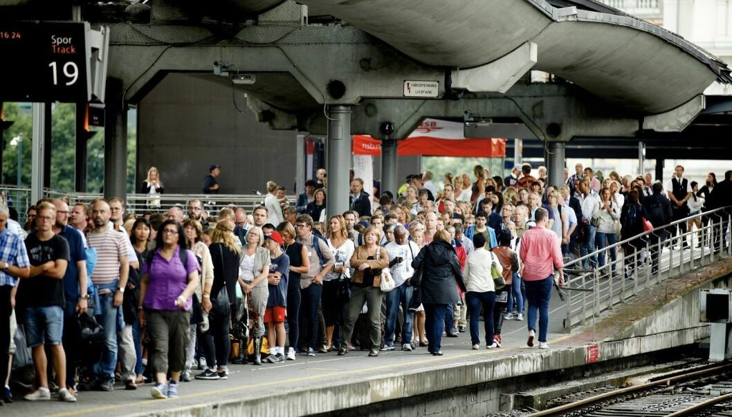 For samfunnet Noreg si framtid er det den siste verknaden av befolkningsvekst og mangelen på transportinfrastruktur som er alvorlegast, skriv Erling Berge i denne kronikken. (Foto: Monica Strømdahl / Aftenposten / NTB scanpix)