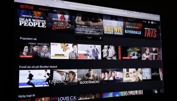 Forskere: Norske Netflix tilbyr lite norsk film