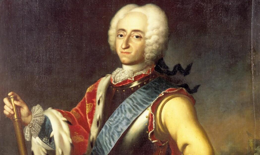 Fredrik 4. var konge av Danmark-Norge fra 1699 til 1730. Uten hans overbevisning hadde ikke kobberverket i Årdal i Sogn og Fjordane kunnet holde på så lenge. (Bilde: Kongernes Samling)