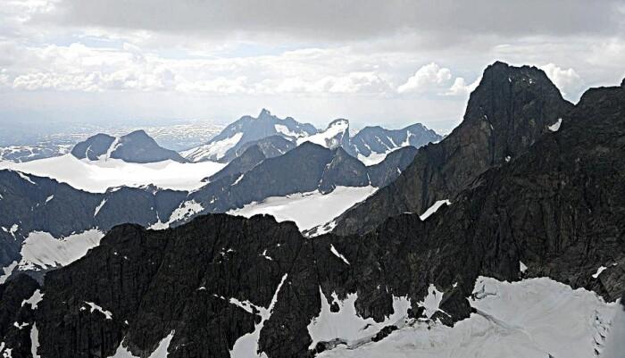 Hurrungane innenfor Årdal i Sogn og Fjordane er kanskje Norges mest dramatiske fjell. (Foto: Arne Martin Güettler, CC BY-SA 4.0)