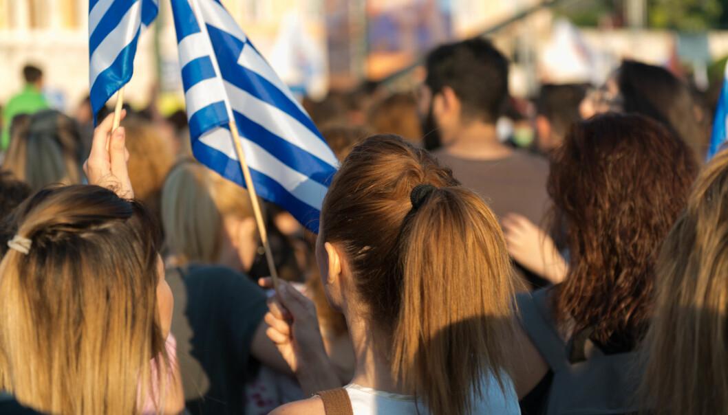 Hellas og Storbritannia er de eneste av de undersøkte landene i Europa der migranter har bedre psykisk helse enn befolkningen ellers. (Charles Coonz / Shutterstock / NTB scanpix)