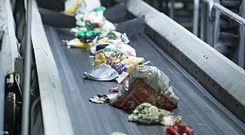 Mindre avfall blir gjenvunnet enn før