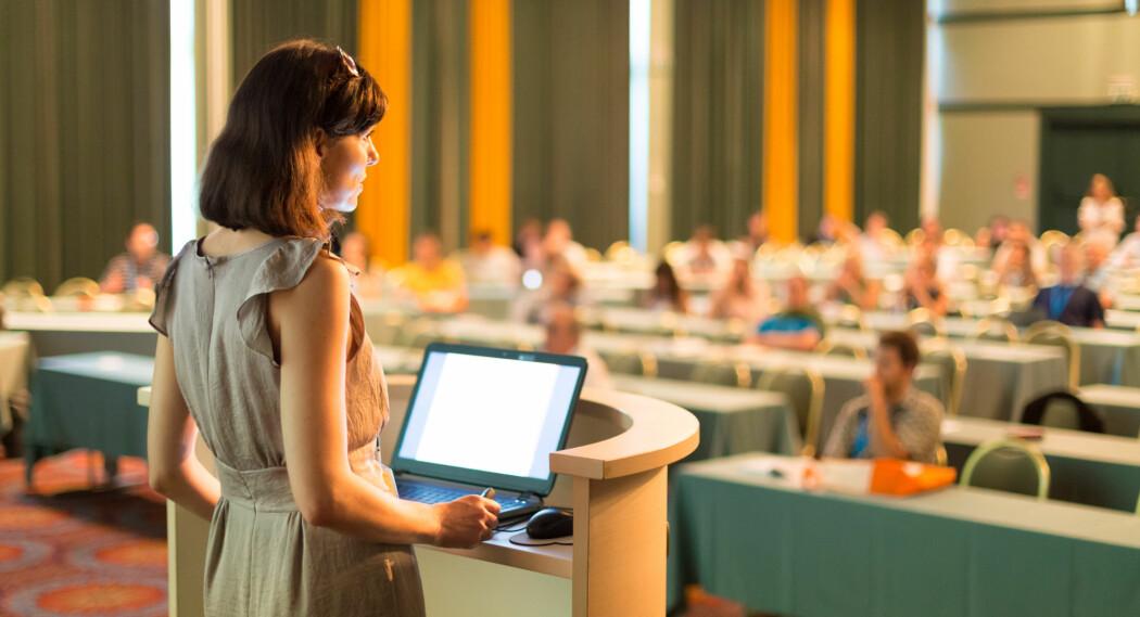 Økningen i andelen kvinner i professorstillinger i Norden er størst i humaniora og samfunnsvitenskap. (Foto: Colourbox)