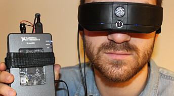 Vil hjelpe blinde til å se ved hjelp av lyd