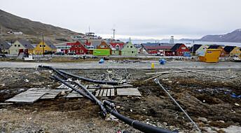 Satellittbilder avslører mange nye ras på Svalbard
