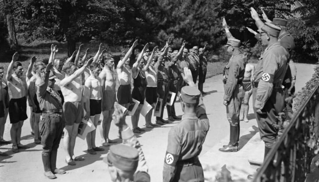Adolf Egeberg jr., som ble den første formannen i Norges Nasjonalsosialistiske Arbeiderparti, gikk på en såkalt Reichsführerschule i München. Dette bilet er fra en tilsvarende skole i Brandenburg. (Foto: Bundesarchiv, B 145 Bild-P049602, Weinrother, Carl, CC-BY-SA 3.0)
