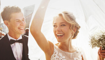 Nei, halvparten av alle gifte blir ikke skilt