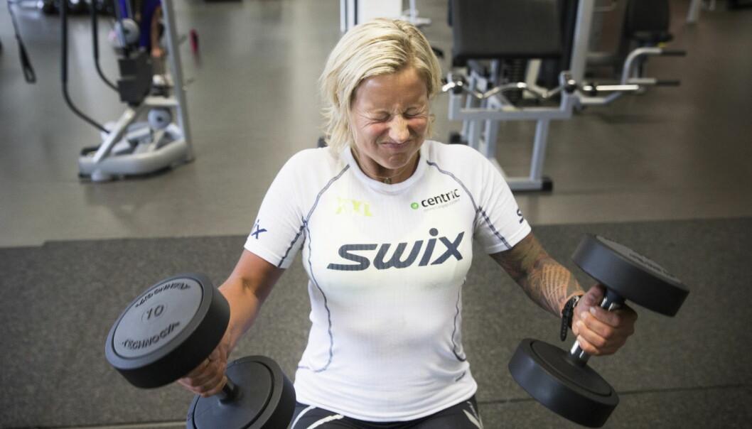 Langrennsløper Vibeke Skofterud overanstrengte seg på treningssamling og fikk tilstanden rabdomyolyse i 2014. Den er det også stadig flere helt vanlige nordmenn som får. (Foto: Frode Hansen, VG/NTB scanpix)