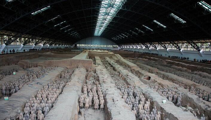 Det ene kammeret, som inneholder mer enn 6000 soldatfigurer. (Bilde: Jmhullot/CC BY 3.0)