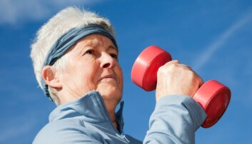 Flere studier finner at styrketrening kan bremse aldring i hjernen. Ingen kan så lang forklare hvorfor.  (Foto: Pearl Bucknall, AGE/NTB scanpix)