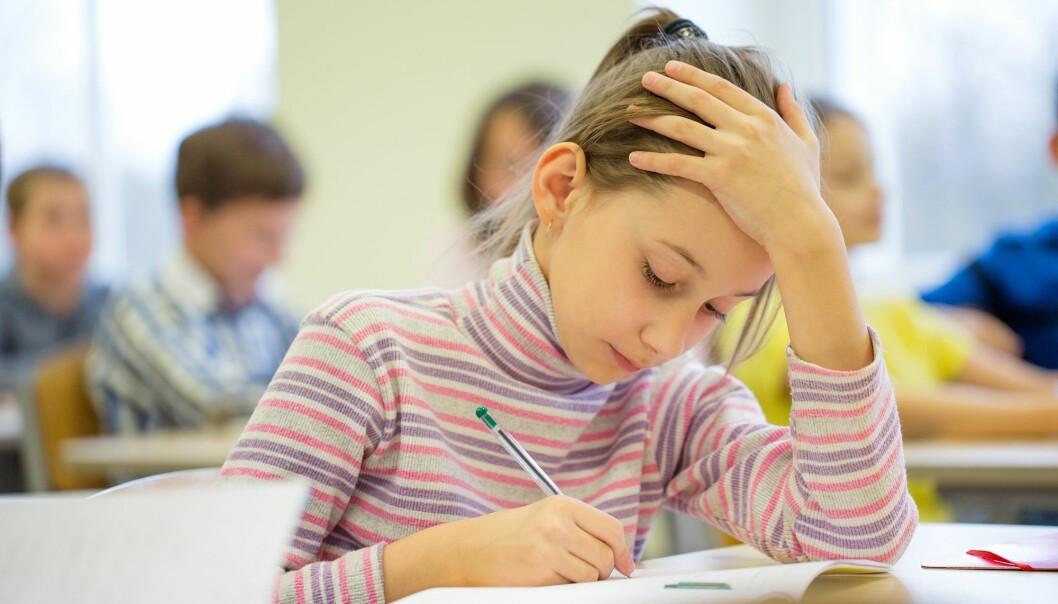 Sjølv om mykje i matematikken er evig, bør den som skal undervise i algebra, ha eit visst innblikk i nyare undervisningslære. (Foto: Colourbox)