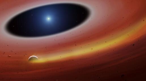 Forskere tror de har funnet en liten planet som går i bane rundt en hvit dverg