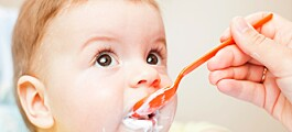 Opptil 15 forsøk før barnet liker en ny smak