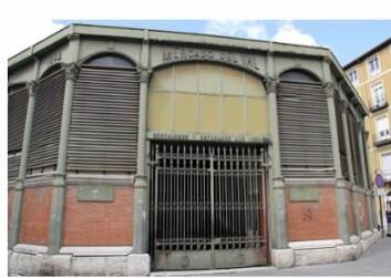 I Valledolid i Spania skal en gammel markedshall bygges om og bli kjøpesenter. (Foto: Sintef)