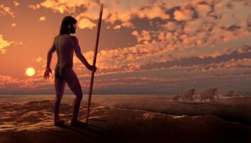 Med neandertalblod i årene og helt sikkert med neandertalgener i DNA-et, fant det moderne mennesket stadig nye jaktmarker. (Illustrasjon: Science Photo Library)