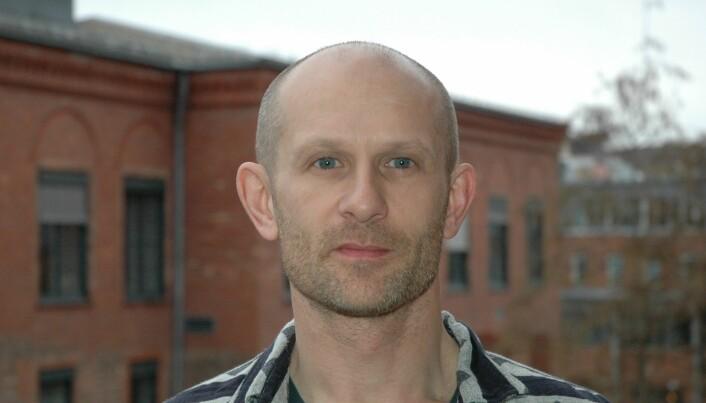 Erik Aasland er førstelektor ved OsloMet. (Foto: Kari Aamli)