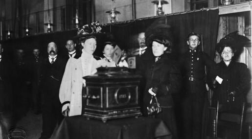 Fattige kvinner klaget på at de ikke fikk stemme ved valget i 1916