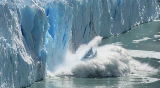 Bevisene hoper seg opp: Varmen forandrer Arktis for alltid