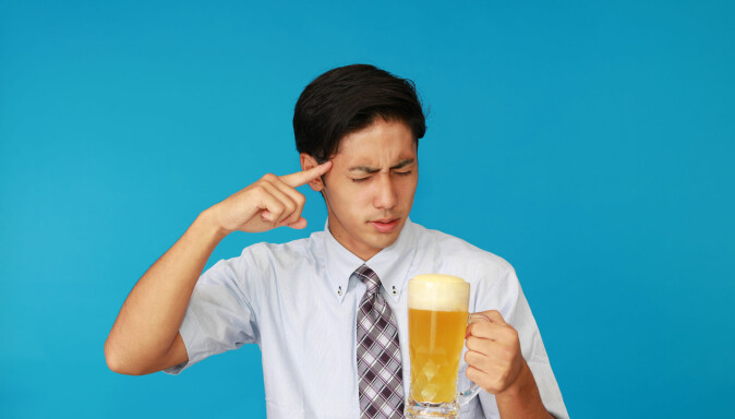 "In East Asia, it is more common to adopt a gene that makes it unpleasant to drink. The sensitivity to be known as ""Asian Flush"" is due to the flow of the face. (Image: sunabesyou / Shutterstock / NTB scanpix)  t"