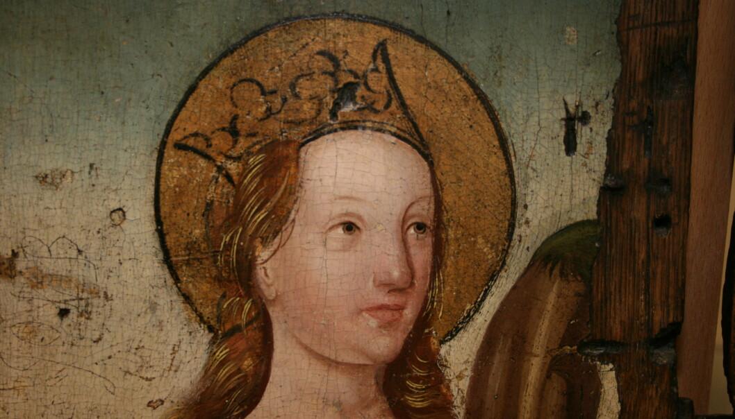Hvem malte kunsten i kirkene?
