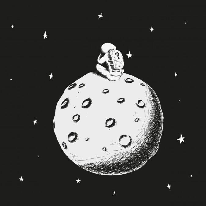 Det er flere eksempler på astronauter som har opplevd psykiske problemer i forbindelse med romferd. (Illustrasjon: Eduard Alsynbayev / Shutterstock / NTB scanpix)
