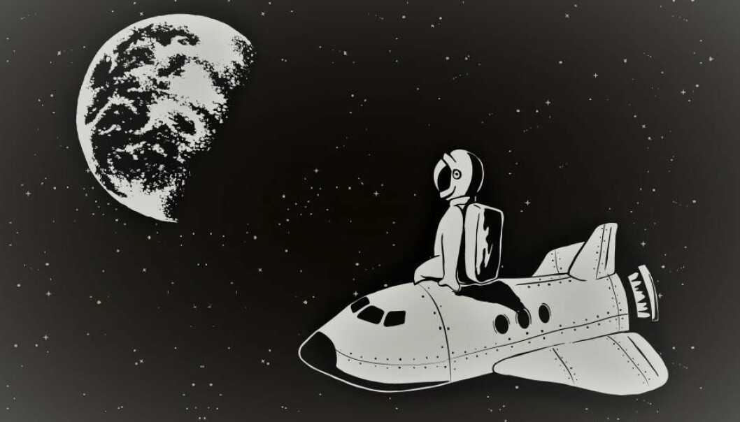 Spør en forsker:Hvordan reagerer astronauter på den ekstreme isolasjonen under en framtidig Mars-ferd?
