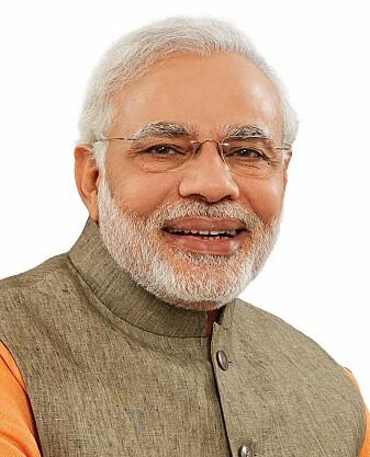 Narendra Modi vil fortsette som Indias statsminister. (Kilde: Wikimedia Commons, https://no.wikipedia.org/wiki/Narendra_Modi)