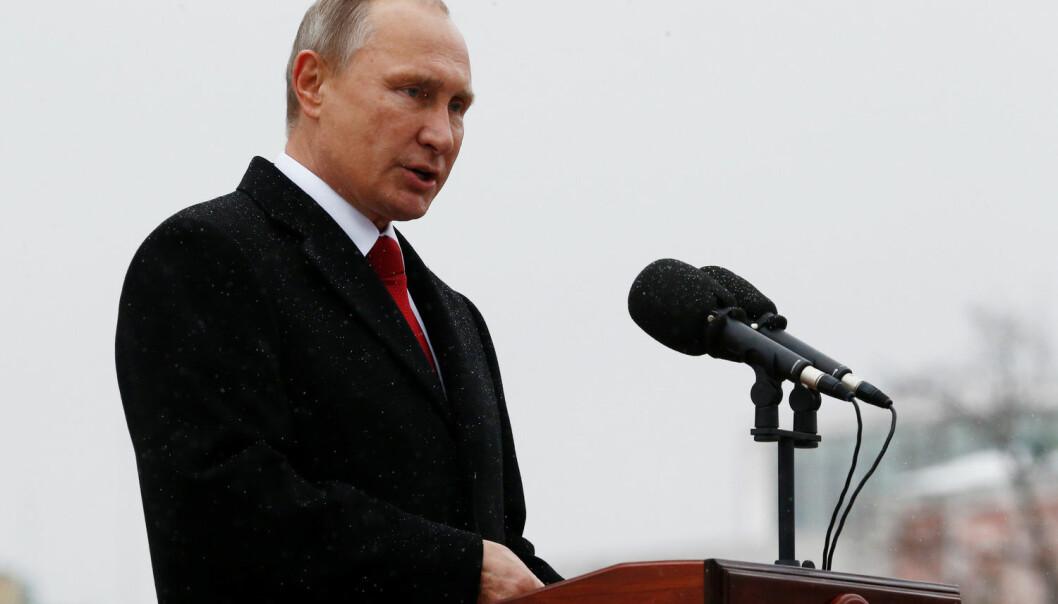 Professor Ivar Neumann er forbauset over at Vladimir Putin ikke synes å ha lært noe av Sovjetunionens fall. (Foto: Reuters / NTB scanpix)