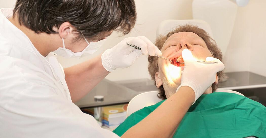 Tannbehandlingen blir tilrettelagt og tilpasset pasientens mestringsnivå. (Illustrasjonsfoto: Colourbox)