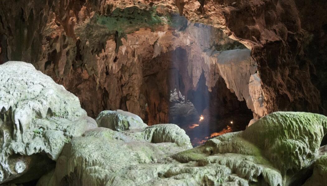 Den så langt ukjente menneskearten har fått det latinske navnet Homo luzoensis. Navnet stammer fra øya Luzon, der funnet ble gjort i denne hulen i 2007. (Foto: Reuters, NTB scanpix)