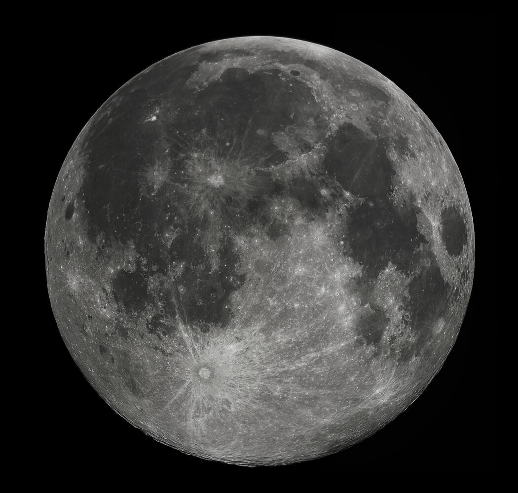 Å reise til månen har lenge vært en drøm blant mennesker. Erik Tandberg beskriver hvordan drømmen én dag ble til virkelighet. (Foto: Gregory H. Revera)