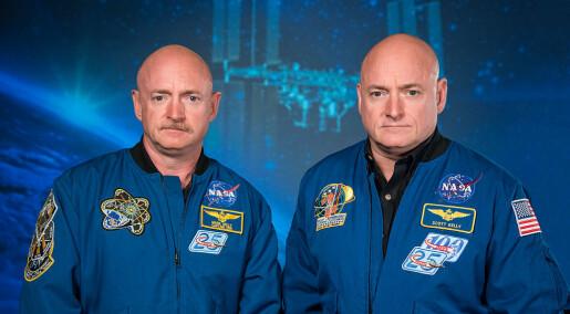 Astronaut-tvillinger gir NASA gyllen mulighet til å finne ut hvordan romferder påvirker oss