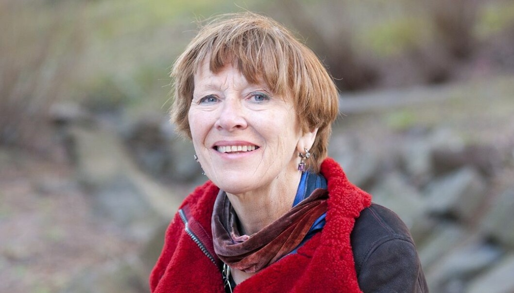Astrid Bergland er leder av forskergruppen Aldring, helse og velferd.  (foto: Sonja Balci/HiOA)