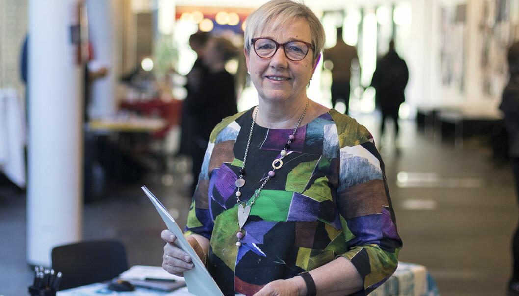 Kirsti Saxi er leder for Senter for kunst og kultur i opplæringen. (Foto: Svein-Arnt Eriksen)